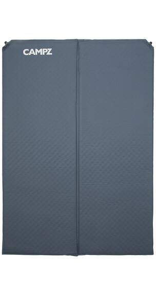 CAMPZ Deluxe Oppusteligt liggeunderlag dobbelt grå